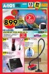 A101 Aktüel 13 Ekim 2016 Katalogu - Kiwi Elektrikli Süpürge