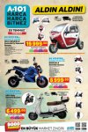 A101 Aktüel 23 Temmuz 2020 - Kral Motor Elektrikli Scooter