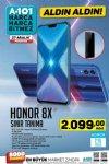 A101 Aktüel 27 Aralık 2018 Kataloğu - Honor 8X Cep Telefonu
