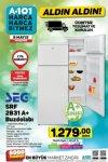 A101 Aktüel 9 Mayıs 2019 Kataloğu - SEG SRF 2831 A+ Buzdolabı