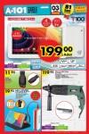 A101 Aktüel Ürünler 3 Mart 2016 Katalogu - Hometech T100 Tablet PC