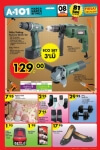 A101 Aktüel Ürünler Katalogu 08.10.2015 - Attlas Matkap - Dambıl