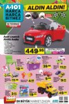 A101 Audi Lisanslı Akülü Araba - 12 Temmuz 2018 A101 Fırsatları