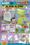 A101 Bebek Ürünleri 5 Nisan 2018 Kataloğu - Sallanır Bebek Karyolası