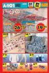 A101 Fırsat Ürünler 1 Aralık 2016 Katalogu - Pamuklu Tv Battaniyesi