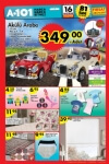 A101 Fırsat Ürünleri 16 Haziran 2016 Katalogu - Akülü Araba