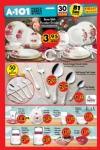 A101 Fırsat Ürünleri 30 Haziran 2016 Katalogu - Kütahya Porselen