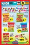 A101 Fırsat Ürünleri 4 Şubat 2016 Broşürü - Haribo