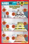 A101 Fırsatları 18.08.2016 Katalogu - Lisanslı Taraftar Nevresim Seti