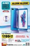 A101 Honor 9 Lite Cep Telefonu - 2 Ağustos 2018 Aktüel Katalogu
