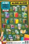 A101 Kırtasiye Ürünleri ve Okul Malzemeleri - 6 Eylül 2018 Kataloğu