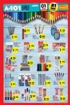 A101 Market 1-7 Eylül 2016 Katalogu - Kırtasiye Ürünleri