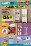 A101 Market 11 Ocak 2018 Katalogu - 4 Kapaklı Bölmeli Çok Amaçlı Dolap