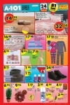 A101 Market 24 Aralık 2015 Broşürü - Kaymaz Çekyat Örtüsü