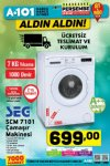 A101 Market 25 Ocak 2018 Kataloğu - Çamaşır Makinesi
