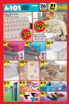 A101 Market 26 Mayıs 2016 İndirim Katalogu - Ev Tekstili