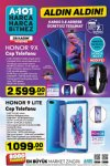 A101 Market 28 Kasım 2019 Kataloğu - Honor 9X Cep Telefonu
