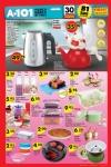 A101 Market 30 Temmuz 2015 - Çelik Su Isıtıcısı - Porselen Çaydanlık