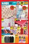 A101 Market 31.12.2015 Fırsatları - Desenli Çekyat Örtüsü