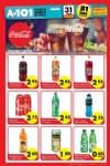 A101 Market 31 Mart 2016 Aktüel Ürünler Broşürü - Meşrubat
