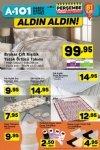A101 Market 6 Nisan 2017 - Brokar Çift Kişilik Yatak Örtüsü
