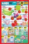 A101 Market 7 - 13 Nisan 2016 Katalogu - Bebek Ürünleri