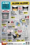 A101 Market 9 Nisan 2020 Kataloğu - Boya Malzemeleri