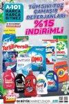 A101 Market Sıvı Çamaşır Deterjanı İndirim Kampanyası
