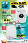 A101 SEG Çamaşır Makinesi - A101 20 Haziran 2019 Kataloğu