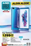 Honor 9 Lite Cep Telefonu - A101 24 Ocak 2019 Perşembe