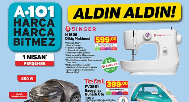 A101 1 Nisan 2021 Aktüel Ürünler Kataloğu