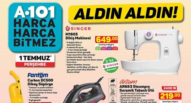 A101 1 Temmuz 2021 Aktüel Ürünler Kataloğu