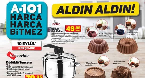 A101 10 Eylül 2020 Aktüel Ürünler Kataloğu