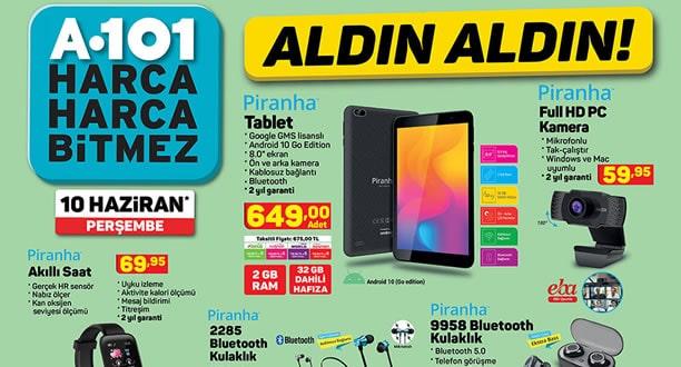 A101 10 Haziran 2021 Aktüel Ürünler Kataloğu