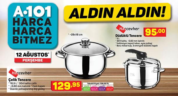 A101 12 Ağustos 2021 Aktüel Ürünler Kataloğu