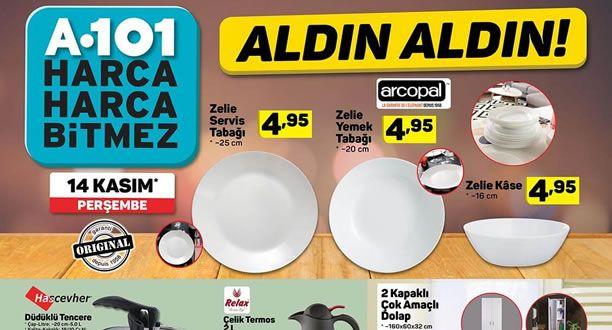 A101 14 Kasım 2019 Aktüel Ürünler Kataloğu