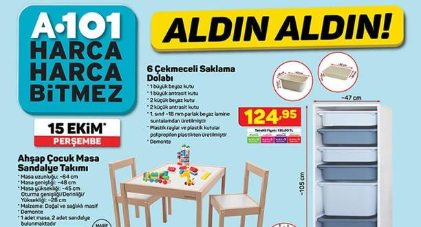 A101 15 Ekim 2020 Aktüel Ürünler Kataloğu