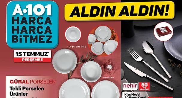 A101 15 Temmuz 2021 Aktüel Ürünler Kataloğu