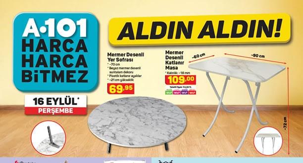 A101 16 Eylül 2021 Aktüel Ürünler Kataloğu