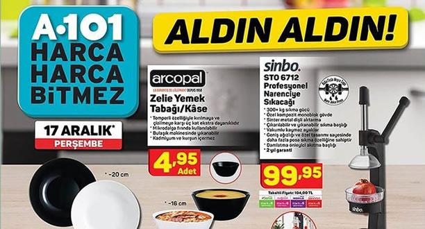 A101 17 Aralık 2020 Aktüel Ürünler Kataloğu