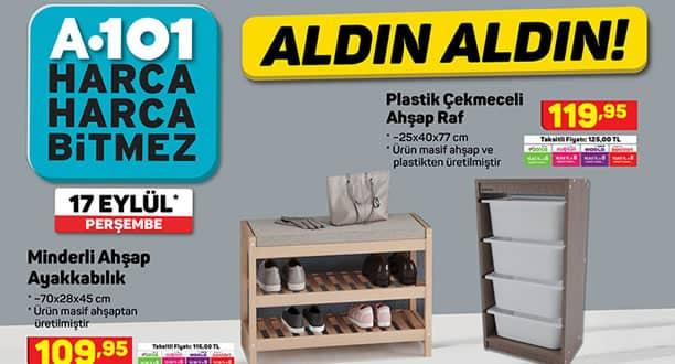 A101 17 Eylül 2020 Aktüel Ürünler Kataloğu