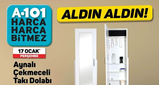 A101 17 Ocak 2019 Aktüel Ürünler Kataloğu