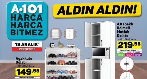 A101 19 Aralık 2019 Aktüel Ürünler Kataloğu