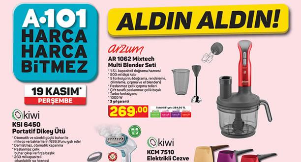 A101 19 Kasım 2020 Aktüel Ürünler Kataloğu