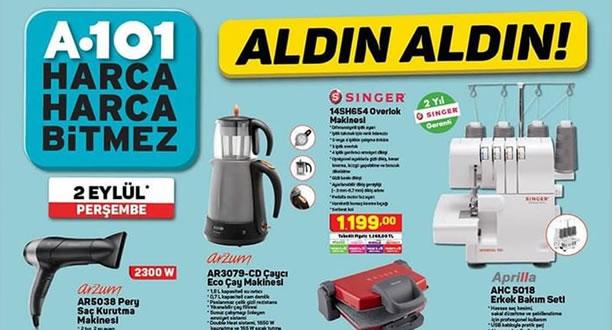 A101 2 Eylül 2021 Aktüel Ürünler Kataloğu