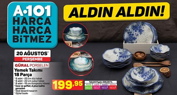 A101 20 Ağustos 2020 Aktüel Ürünler Kataloğu