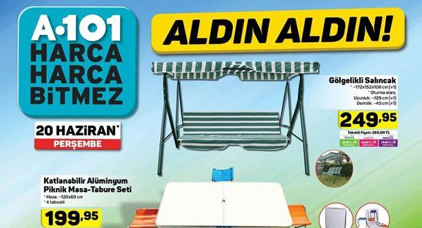 A101 20 Haziran 2019 Aktüel Ürünler Kataloğu