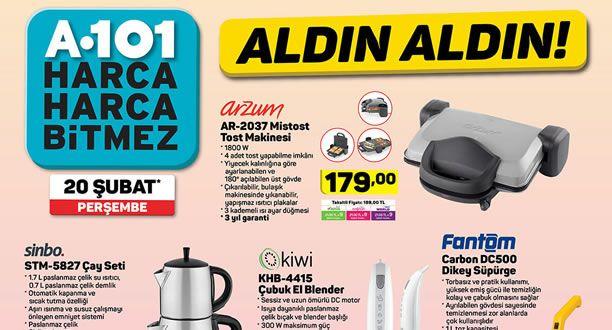 A101 20 Şubat 2020 Aktüel Ürünler Kataloğu
