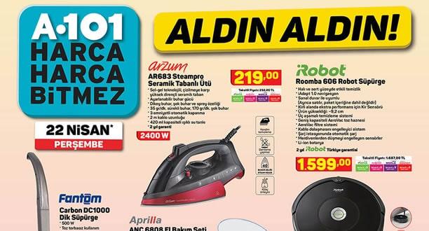 A101 22 Nisan 2021 Aktüel Ürünler Kataloğu