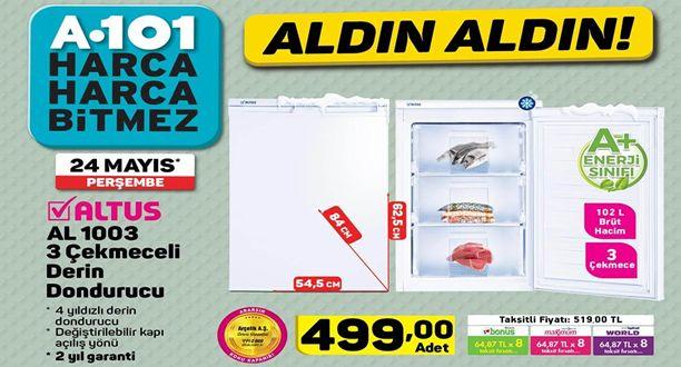 A101 24 Mayıs 2018 Aktüel Ürünler Kataloğu
